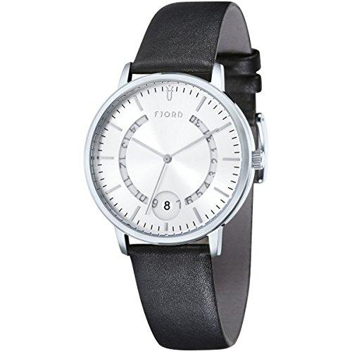 Fjord Armbanduhr Anton schwarz