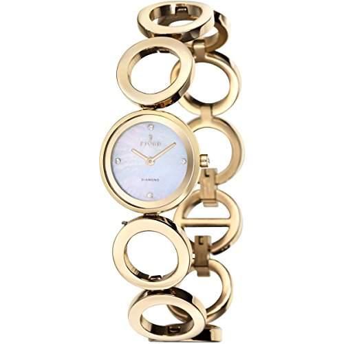 FJORD Damen Edelstahl Armbanduhr ABELLONA FJ 6015 44