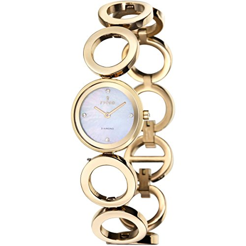 FJORD Damen Edelstahl Armbanduhr ABELLONA FJ 6015 33
