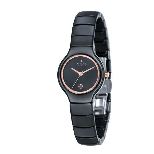 FJORD Damen Edelstahl Armbanduhr BLANCHE