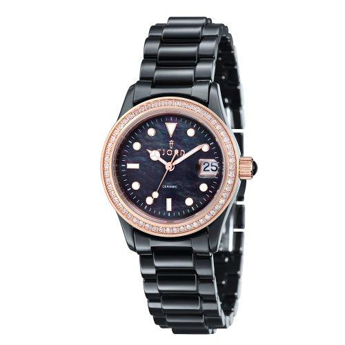 FJORD Damen Edelstahl Armbanduhr VALENTIN