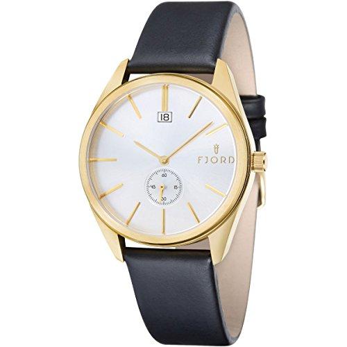 Uhr Quarz Fjord Display Armband und Zifferblatt fj 3016 04 silverwhitedial 42 mm