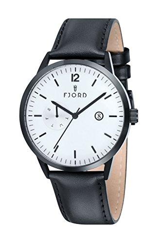 FJORD Herren Edelstahl Armbanduhr ANDERS