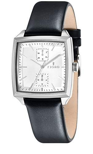 FJORD Herren Edelstahl Armbanduhr FINN