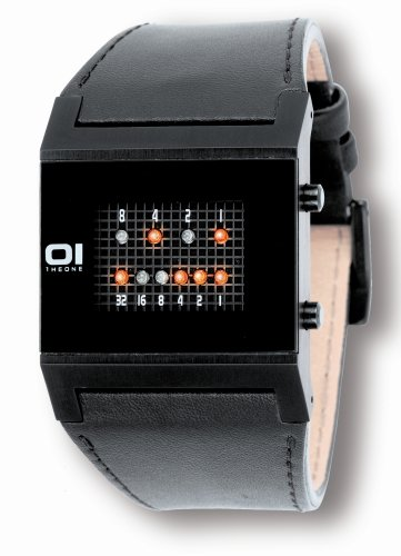 The One Herrenarmbanduhr Binary KT202R1 Kerala Trance LED Ro