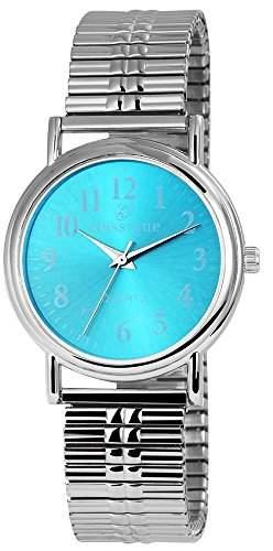 Adrina Damenuhr mit Metallarmband Silber Armbanduhr Uhr RP4683250001