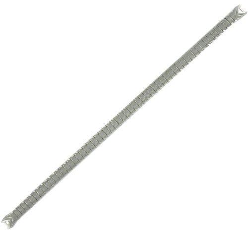 Speidel Frauen weiss gold 10 K GP Haken Ende Armbanduhr Band 5 3 10 2 cm