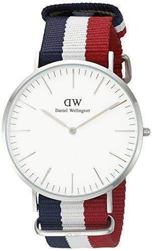 Daniel Wellington Herren-Armbanduhr Analog Quarz Textil DW00100017