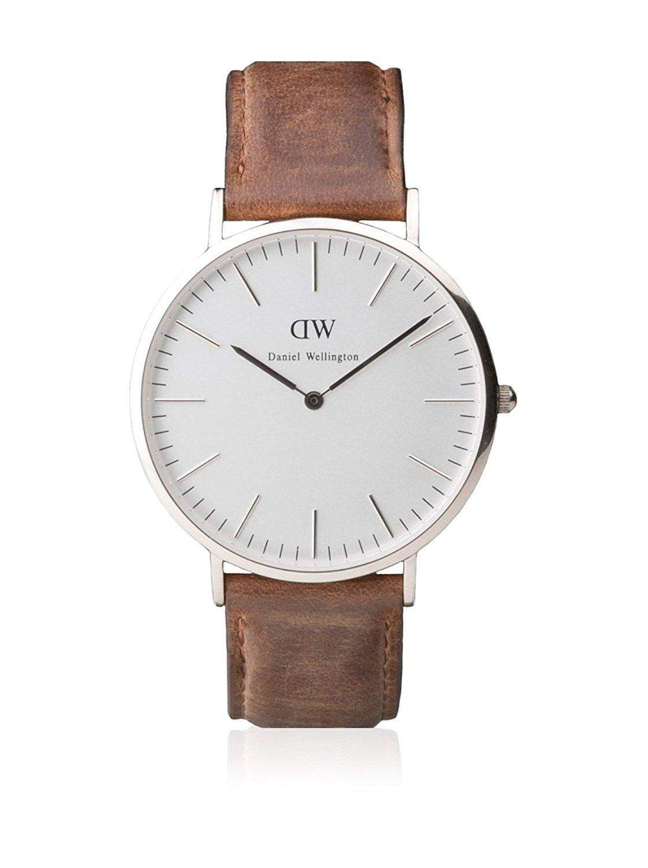 Daniel Wellington Herren-Armbanduhr XL Cardiff Analog Quarz Leder 0210DW