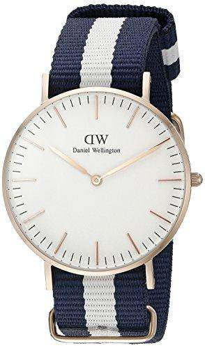 Daniel Wellington Damen-Armbanduhr Analog Quarz Textil DW00100031
