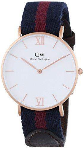Daniel Wellington Damen-Armbanduhr Analog Quarz Textil 0551DW