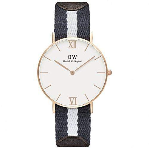 Daniel Wellington Damen-Armbanduhr Analog Quarz Textil 0552DW