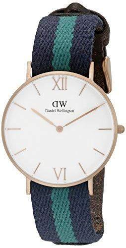 Daniel Wellington Damen-Armbanduhr Analog Quarz Textil 0553DW