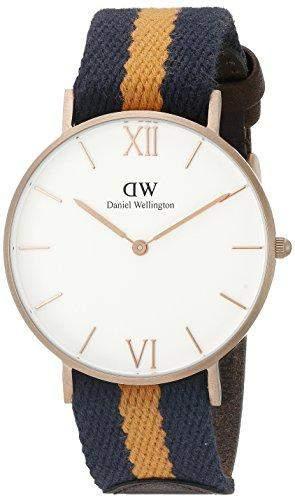 Daniel Wellington Damen-Armbanduhr Analog Quarz Textil 0554DW