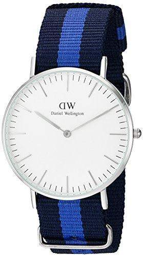 Daniel Wellington Damen-Armbanduhr Swansea Analog Quarz Nylon 0603DW