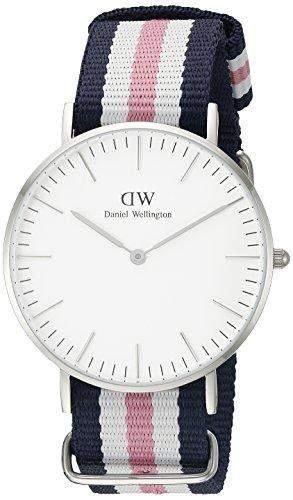 Daniel Wellington Damen-Armbanduhr Analog Quarz Textil DW00100050