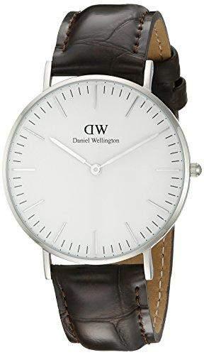 Daniel Wellington Damen-Armbanduhr Analog Quarz Leder DW00100055