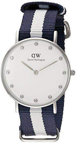 Daniel Wellington Damen-Armbanduhr Analog Quarz Textil DW00100066