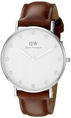 Daniel Wellington Damen-Armbanduhr Analog Quarz Leder DW00100079