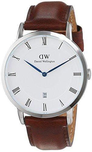 Daniel Wellington Herren-Armbanduhr Analog Quarz Leder DW00100087
