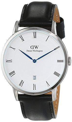 Daniel Wellington Herren-Armbanduhr Analog Quarz Leder DW00100088
