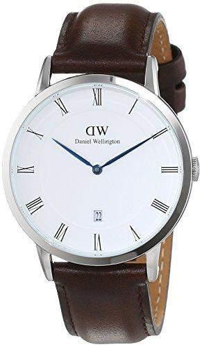 Daniel Wellington Herren-Armbanduhr Analog Quarz Leder DW00100090