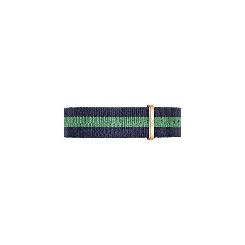 Daniel Wellington Armband Warwick blau gruen Herren Textilarmband NEU