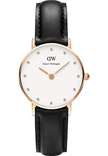 Daniel Wellington Analog Quarz One Size weiss schwarz