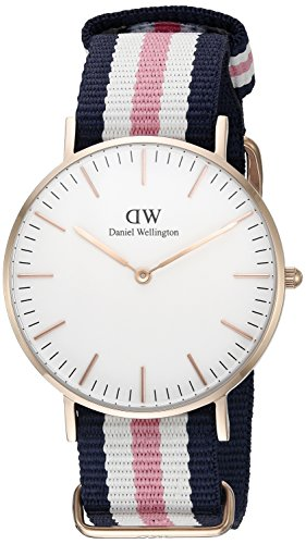 Daniel Wellington Southampton Analog Quarz Nylon DW00100034