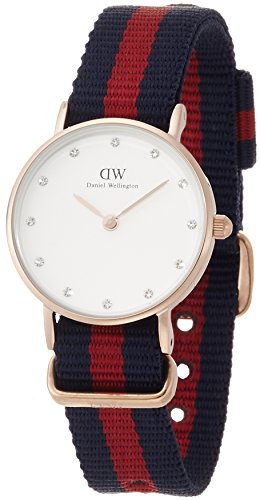Daniel Wellington XS Classy Oxford Analog Quarz Nylon DW00100064