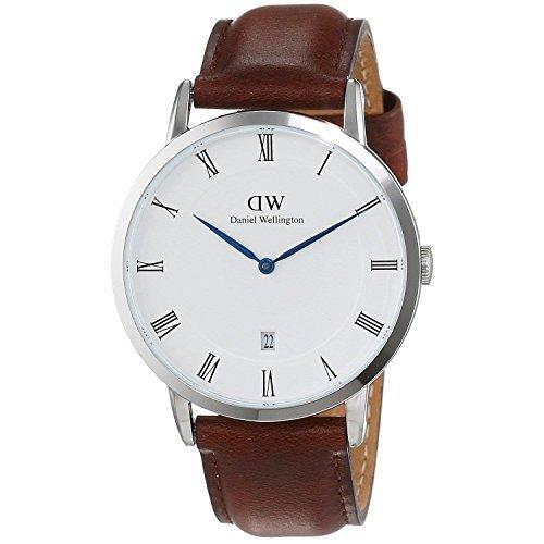 Daniel Wellington Dapper St Mawes Silver Uhr 38 mm DW00100087