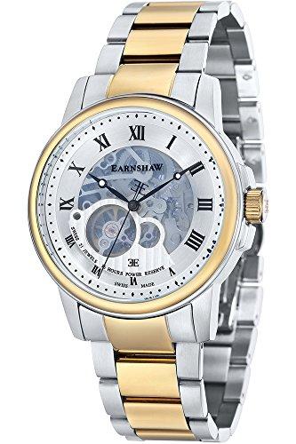 THOMAS EARNSHAW Armbanduhr Analog Automatik Edelstahl ES 0029 22 Metallic