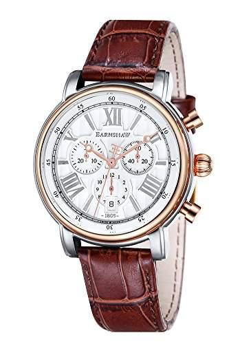 Thomas Earnshaw Longcase 43 fuer Maenner -Armbanduhr Chronograph Quartz ES-0016-06