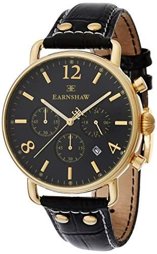 Thomas Earnshaw Investigator Mens Chronograph Watch - ES-8001-01