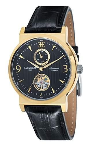 Thomas Earnshaw Herren-Armbanduhr Automatik ES-8012-06_Nero-