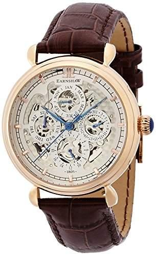 Thomas Earnshaw Grand Calendar fuer Maenner -Armbanduhr Multifunktion Automatisch ES-8043-04