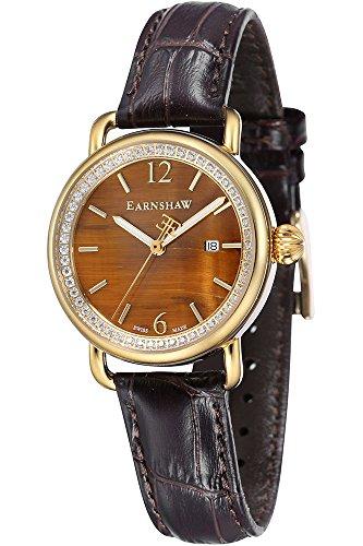 THOMAS EARNSHAW Armbanduhr Analog Quarz ES 0030 02 Yelllow Gold