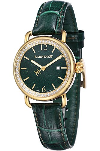 THOMAS EARNSHAW Armbanduhr Analog Quarz ES 0030 03 Yelllow Gold