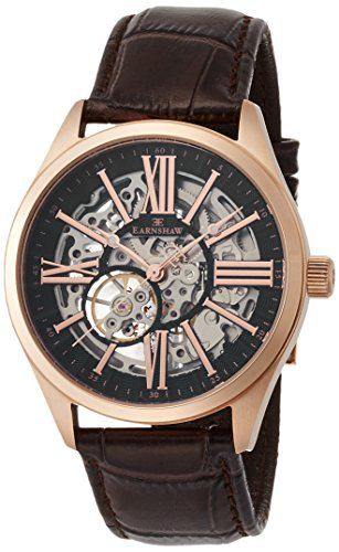 THOMAS EARNSHAW Armbanduhr Analog Automatik ES 8037 05 Rose gold