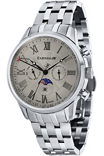 THOMAS EARNSHAW Armbanduhr Quarz Edelstahl ES 0017 22 Metallic