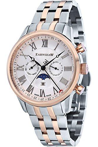 THOMAS EARNSHAW Armbanduhr Analog Quarz Edelstahl ES 0017 55 Metallic