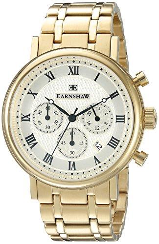 Thomas Earnshaw Herren es 8051 22 Beaufort Analog Display Japanisches Quartz Gold Watch