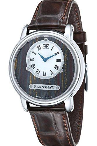Thomas Earnshaw Lapidary fuer Maenner Armbanduhr Analog Quartz ES 0027 03