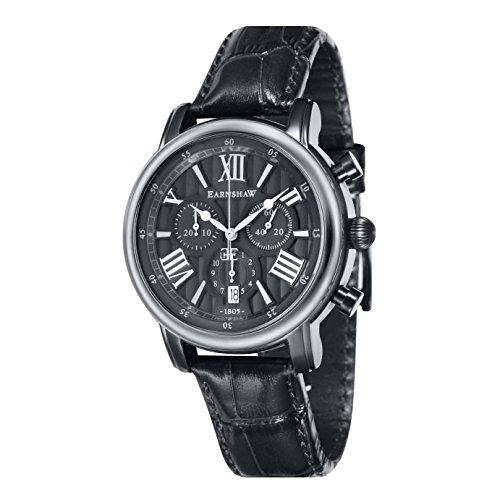 Thomas Earnshaw Longcase 43 Chronograph Quarz ES 0016 07 Dark Grey