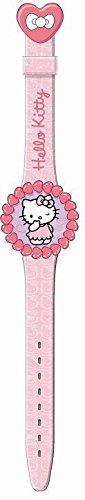 Hello Kitty Kinder Armbanduhr Digital Flip Top Pink PU