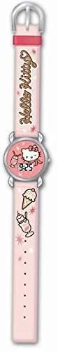 Kinder Armbanduhr LCD - HELLO KITTY mod HK25134