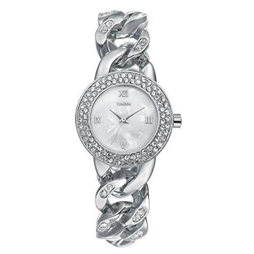 Time100 Armbanduhr Quarzuhr Edelstahl W50325L 02A