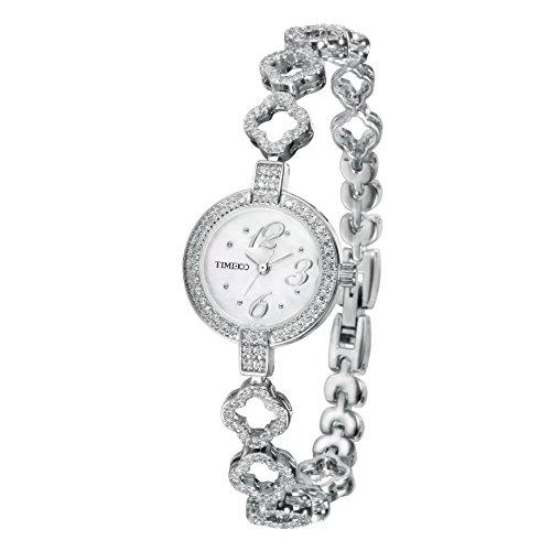 Time100 Armbanduhr Quarzuhr Edelstahl Silber W50371L 01A