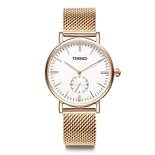 Time100 NEU Armbanduhr Liebespaar rund W80189L 01A