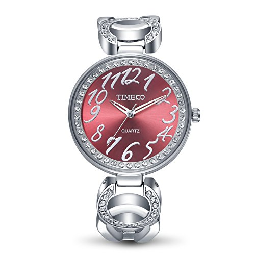 Time100 moderne Armbanduhr grosse Zifferblatt W50285L 01A